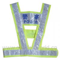 Promotion Colorful Traffic Belt Reflective Police Safety Vest