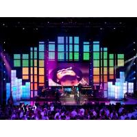 Full Color Electronic Led Curtain Display with 1024 Pixels / m2 Density P10
