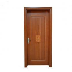 China French Styles Flat Panel Interior Doors / Internal Hardwood Doors Soundproof on sale