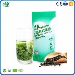 China Health and wellness products chinese organic green tea packaged with bags per 40 g on sale