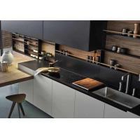 Solid Wood Door Board Acrylic Kitchen Cabinets Adjustable Legs 18mm MFC Board