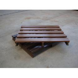 China No-fumigation WPC Wood Plastic Composite Pallet 1.1m for Shipment on sale