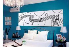 arrosez le panneau de mur d coratif moderne de l 39 unit. Black Bedroom Furniture Sets. Home Design Ideas