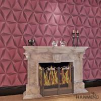 Modern Foam Vinyl Embossed Wallpaper / Interior Design Wall Paper With 3D Effect