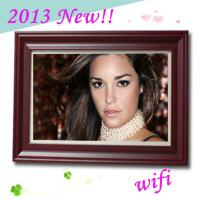 2013 New! 32 Inch Large Size Digital Photo Frame With WIFI Multimedia Player