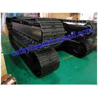 custom built 8-10 ton steel track undercarriage crawler undercarriage assembly
