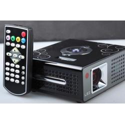 China 1024 * 768 (Support 1080P) full hd mini projector with HDMI, MP4 player, USB Interface on sale