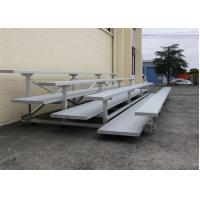 Outdoor Events Fixed Temporary Grandstand With Mill Finished Foot Planks