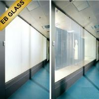 Privacy PDLC smart film, smart privacy film, switchable pdlc film, smart glass, EB GLASS