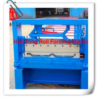 Colored Steel Jch Roof Panel Roll Forming Machine with 45# Steel