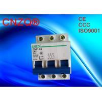 mcb 4.5 ka 6 ka miniature circuit breaker dz47 c45 3p breaker