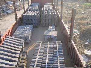 Dia 4m Cement Castings Mill Lining System With HRC50 Hardness And AK50J DF090