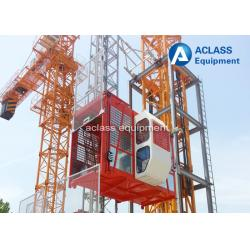 China 4000kg Rack and Pinion Construction Hoist Elevator for Materials / Passengers on sale