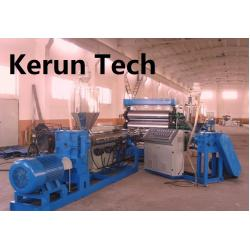 China Plastic Machinery-WPC Construction Formwork Extrusion Machine on sale
