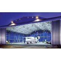 Longevous Roof Systems Steel Aircraft Hangar Buildings Constructed Pipe Truss