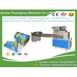 China Custom made automatic laminated ice cream packaging with bestar pillow packaging machine BST250 on sale