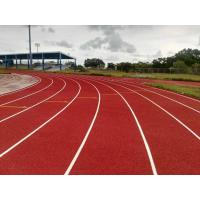 Stadium Rubber Running Track Material With EPDM Granules Surface 13 Mm Thickness