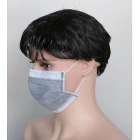 4ply active carbon face mask with ear loop or tie on