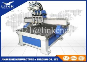 Air Cooling Spindle Cnc Router Machine / Multi Spindle Woodworking Cnc Router