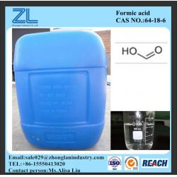 China Leather chemical 85%/90%/94% Formic Acid on sale