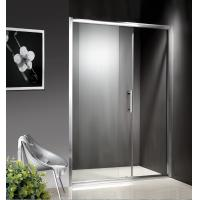 1200-1800X1950mm Replacement Sliding Glass Shower Doors , Shower Cubicle Doors With Double Wheels