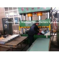 Colorful Steel Stone Coated Roof Tile Machine With Capacity 3000 pcs / day
