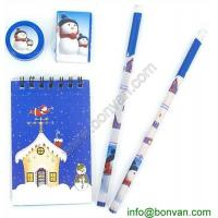 5pcs Pencil Eraser Ruler Stationery Set for Student in School,Children Stationery Set