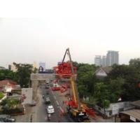 Bridge Construction Equipment Segment Lifter Hydraulic With Steel Wheel