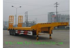 中国 半 Q345B の 2/3 車軸および JOST の鋼鉄 Gooseneck のトレーラーは決め付けます 製造者