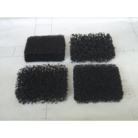 Active Carbon Air Filter Foam with Reticulated Polyurethane Material 3 - 50 mm Thick