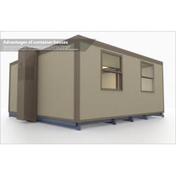 Movable container hotel room movable container hotel room for Smart house container