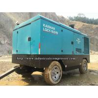 High Efficient Portable Diesel Engine Driven Air Compressors / Heavy Duty Air Compressor