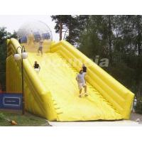 PVC Tarpaulin Inflatable Zorb Ramp For Inflatable Zorbing Ball
