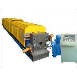 China Color steel rain drainage water pipe roll forming machine, k span roll forming machine on sale