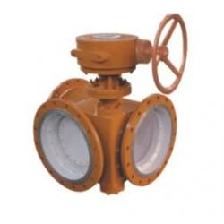China 3 inch Electric Flanged Butterfly Valve / 3 Way Butterfly Valve For Gas , 150LB - 1500LB on sale