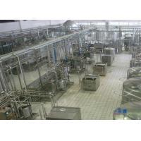Orange / Mango Juice Processing Line , Automatic Apple Juice Production Line
