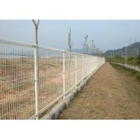Double Loop Chicken Wire Fence Panels Powder Coated  Low Carbon Steel High Strength