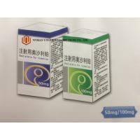 Oxaliplatin Injection Medicine 50mg / 100mg Stage III Antineoplastic Agents Advanced Colorectal Cancer Treatment