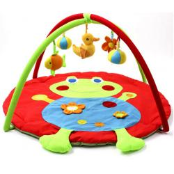 China Lovely Frog Baby Activity Gyms / Baby Kick And Play Gym Custom Made on sale