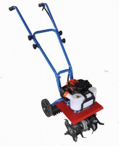 1.2HP Gasoline Tiller / Hand Tractor Walk Behind Manual Cultivator Tiller