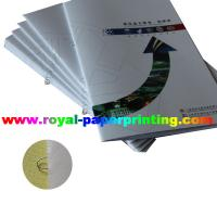 high quality colorful catalogue offset printing