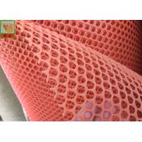 Heavy Duty Chicken Netting , Plastic Poultry Netting , HDPE Materials , 10 mm Hole Size , Orange Color