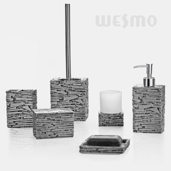 silver bathroom accessories sets  gerryt,