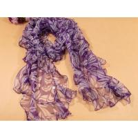 Lady's Popular Oblong Pure Silk Scarf