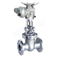 DN50 - 1600 mm Electric / Manual Flanged Gate Valve /Sluice Valve For Hydropower Project