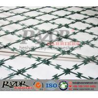 PVC coated Welded Razor Mesh Fencing System