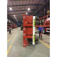20ft skeleton semi trailer 3 axles/ bare chassis trailer with DOT