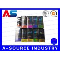 Recycled  Injection Card Board Boxes 10ml Vial Boxes For Serum  Kit