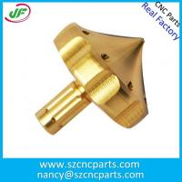 CNC Machining Turning Brass Parts with High Polished Rapid Prototyping