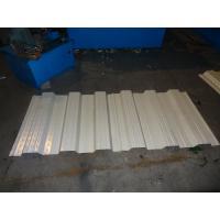 0.8 - 1.0mm Hydraulic Decoiler Metal Deck Roll Forming Machine 7.5kw